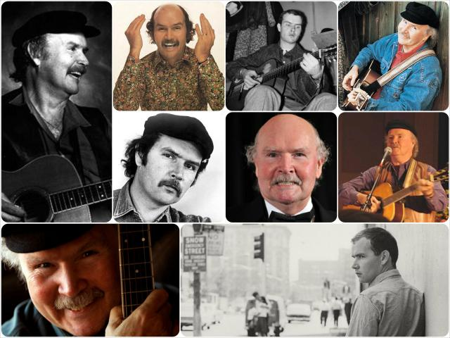 Tom Paxton collage