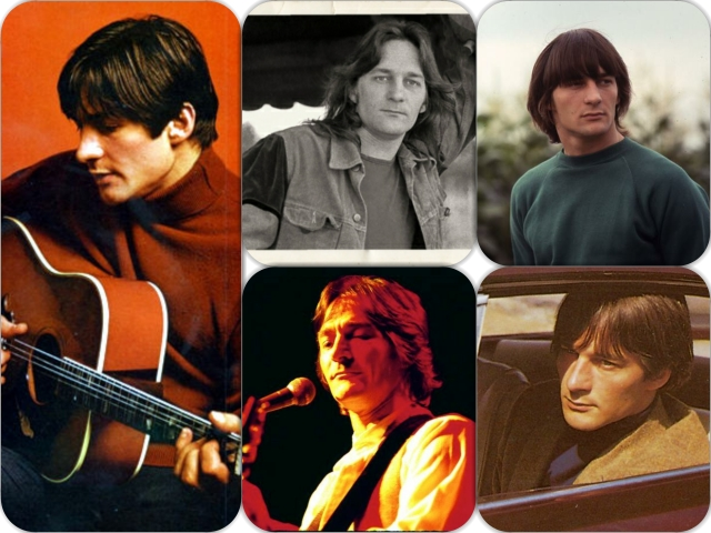 Gene Clark collage
